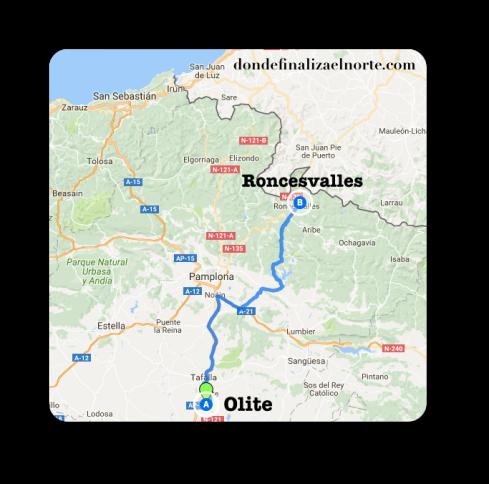 mapa-olite-roncesvalles